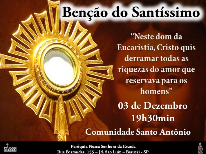 Benção do Santíssimo Sto Antônio