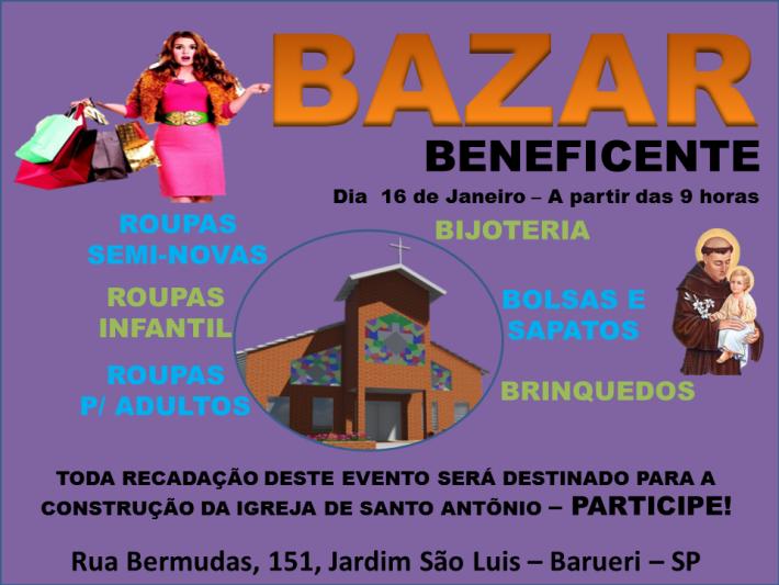 Bazar Beneficente 2016.1