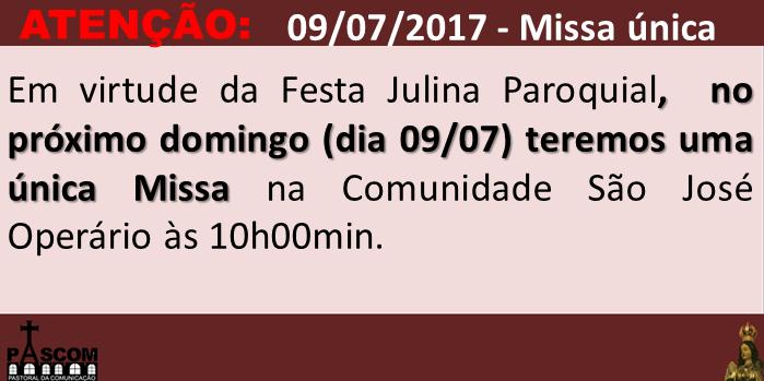 highlight Missa Unica - 09.07.2017